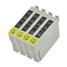 4 cartuchos para d120 d78 d92 dx4000 dx4400 dx4450 dx5000 dx5050 por Black 1x nuevo