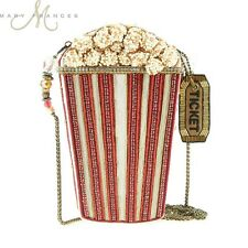 Mary Frances Handbag Butter Me Up  Beaded Jeweled Popcorn Movies Shoulder bag