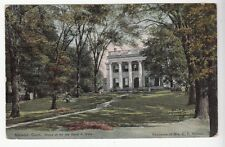 [52224] 1909 POSTCARD HOME OF THE LATE DAVID A. WELLS IN NORWICH, CONNECTICUT