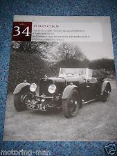 Brooks asta catalogo 1995 vendita 34 Alexandra PALACE LONDRA Bristol 401 JAGUAR SS