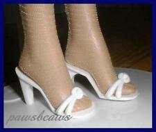 WHITE High Heels Sandals Doll SHOES for ELLOWYNE Gene TYLER WENTWORTH