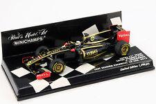 Kimi raikkonen Lotus r30 #9 prueba Session valencia fórmula 1 2012 1:43 Minichamps