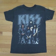 VINTAGE ORIGINAL TEE SHIRT KISS HOT IN THE SHADE 1990 BLACK SIZE M 50/50