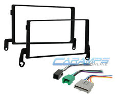1997-1998 F-150 DOUBLE 2 DIN CAR STEREO INSTALL DASH KIT W PREMIUM SOUND HARNESS