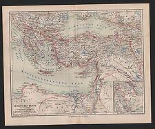 Landkarte 1878: TÜRKISCHES REICH. Türkei, Maßstab: 1 : 10.000.000