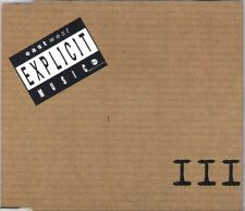 EXPLICIT MUSIC III Various CD 1995 East West 19 Track Complication ~ RARE FIND ~