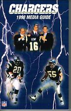 1998 San Diego Chargers Football NFL Media GUIDE