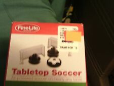TABLETOP SCOCCER AIR POWERED SOCCER ON NEARLY ANY TABLE NIB FINELIFE