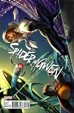 SPIDER-GWEN 7 V2 2015 J SCOTT CAMPBELL CONNECTING COVER B VARIANT SPIDERMAN