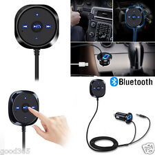 Wireless Bluetooth Audio Music Receiver 3.5mm Adapter Handsfree Car AUX Speaker