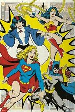 24x36 DC Comics Girl Superhero Poster shrink wrapped