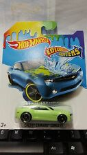 HOTWHEELS COLOR SHIFTERS CHEVY CAMARO CONCEPT SPORT CAR RARE HOT WHEELS DIE-CAST
