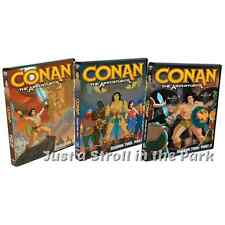 Conan The Adventurer: TV Series Complete Seasons 1 & 2 Box / DVD Set(s) NEW