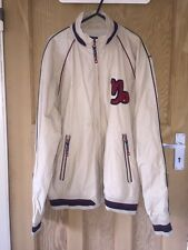 "Paul Smith Sport Cream Cotton Bomber Jacket Size M AtoA22"" L28"" *C1"