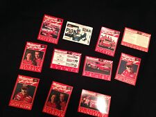 Ford Motor Racing Champion Pit Crew Collector Cards Includes 11