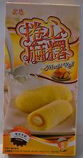 Japanese Style Daifuku Mochi Sweet Potato & Milk Rice Cake Roll dessert