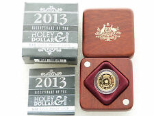 2013 Australia Holy Dollar Dump $10 Ten Dollar Gold Proof 1/10oz Coin Box Coa