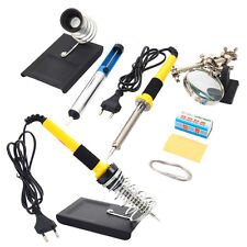 6in1 Household Maintenance Soldering Iron Tools Kit 230V 60W with Magnifier EU