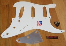 Fender Stratocaster Pickguard Eric Johnson American Standard White Guitar Parts