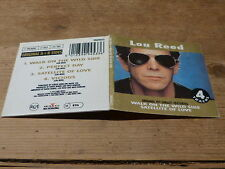 LOU REED - WALK ON THE WILD SIDE - RARE CD 3 INCHES - CD 3 POUCES