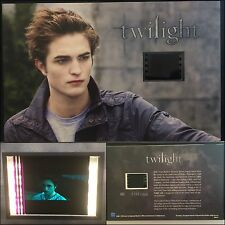 Twilight Robert Pattinson Limited Edition #19 Film Cell Individual Numbered