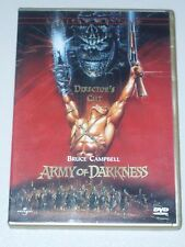 Army of Darkness Gold Case Special Edition Director's Cut DVD OOP! Anchor Bay