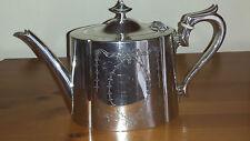 Plata (placa) Tetera Epbm-James Dixon & Sons-Calidad Tea Pot