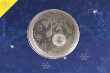 Australien Christmas Locket Coin 1 Unze oz Silber PP 2012