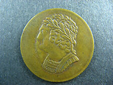 LC-60C1 BH-9 1820 Bust and harp token Lower Bas Canada Breton 1012
