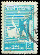 Scott # RA50 - 1941 - ' Soldier & Map of Turkey '