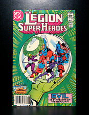 COMICS: DC: Legion of Super-Heroes #303 (1980s), Supergirl app - RARE (flash)