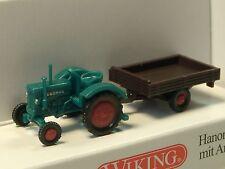 Wiking Hanomag R16 mit Anhänger - 0953 03 - 1/160
