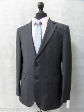 Men's Grey Jeff Banks STVDIO 2 Piece Suit 40R W36 L31 CC2046
