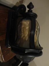 MINKA LAVERY EXTERIOR WALL MOUNTED BLACK LANTERN LIGHT