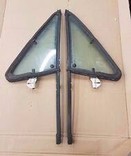 VW GOLF MK1 CABRIO SPORTLINE RIVAGE OPENING QUARTER TRIANGLE WINDOW GLASS KIT