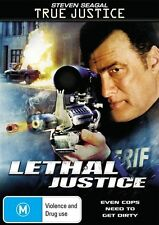 True Justice: Lethal Justice * NEW DVD * Steven Seagal