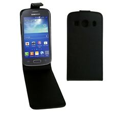 Samsung Galaxy Ace Style LTE / G357 Vertical Flip Magnetic Snap Leather Case