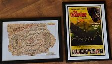 The Goonies A4 Black Framed Pictures