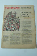LA VOIX LORRAINE journal naissance anniversaire 26 juin 1966 , 26/06/1966
