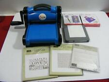 Sizzix Big Shot Die Cutting Machine with some Assessories