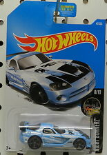 VIPER SRT10 ACR RACE CAR DRIFTER BLUE 47 2016 8 MOPAR DODGE BOYS HW HOT WHEELS