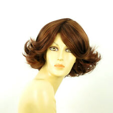 short wig for women brown copper wick light blonde and red ref: FLORE 33h PERUK