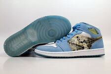 Nike Air Jordan 1 Retro Alpha White/Blue UNC North Carolina 316269-142 SZ 7.5
