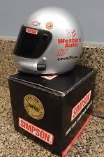 Simpson Darrell Waltrip Western Auto Limited First Edition 1/4 Scale Mini Helmet