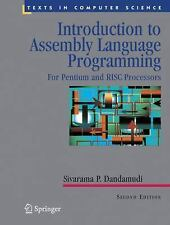 Introduction to Assembly Language Programming: From 8086 to Pentium Processors
