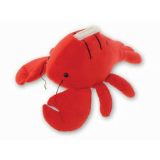 Lobster Plush Coin Bank NEW Toys Soft Stuffed Plushie Puzzled Savings Animal