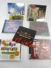 7 Lot Compilation CD - Budweiser Tour AMP 02, X102.3, Canadian Band Slam Sin Cit