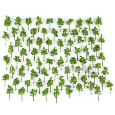 100 pcs Green Model Trees for N Z scale layout Garden Pack Street 38mm