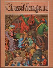 Grosse Menagerie. Pop-up Bilderbuch Original in Folie Reprint 1870 J.F.Schreiber