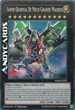 Super Quantal Re Mech Grande Magnus ☻ Segreta ☻ WIRA IT037 ☻ YUGIOH ANDYCARDS